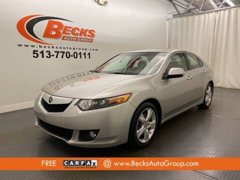 2009 Acura TSX for sale at Becks Auto Group in Mason OH