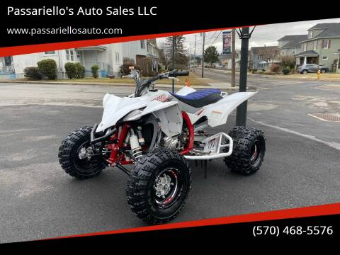 2018 Yamaha YFZ450  for sale at Passariello's Auto Sales LLC in Old Forge PA