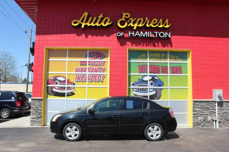 2008 Nissan Sentra for sale at AUTO EXPRESS OF HAMILTON LLC in Hamilton OH