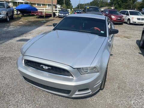 2013 Ford Mustang for sale at THE COLISEUM MOTORS in Pensacola FL
