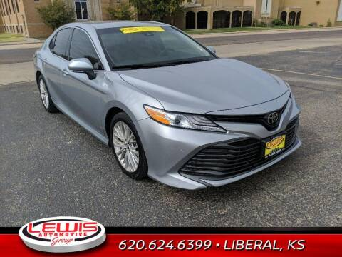2018 Toyota Camry for sale at Lewis Chevrolet Buick Cadillac of Liberal in Liberal KS