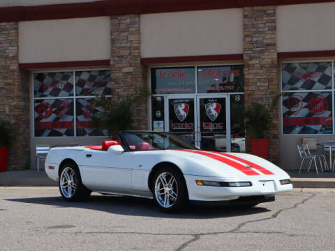 1993 Chevrolet Corvette for sale at Iconic Motors of Oklahoma City, LLC in Oklahoma City OK