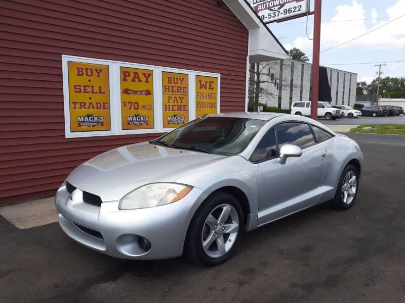 2008 Mitsubishi Eclipse for sale at Mack's Autoworld in Toledo OH
