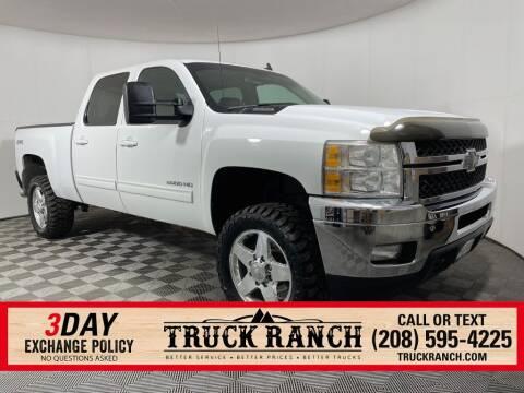 2011 Chevrolet Silverado 2500HD for sale at Truck Ranch in Twin Falls ID