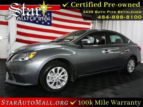 2019 Nissan Sentra for sale at STAR AUTO MALL 512 in Bethlehem PA