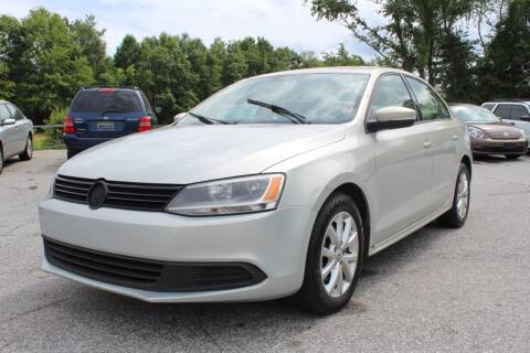 2011 Volkswagen Jetta for sale at UpCountry Motors in Taylors SC