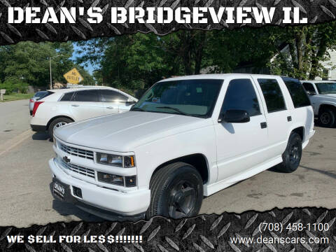 2000 Chevrolet Tahoe Limited/Z71 for sale at DEANSCARS.COM in Bridgeview IL