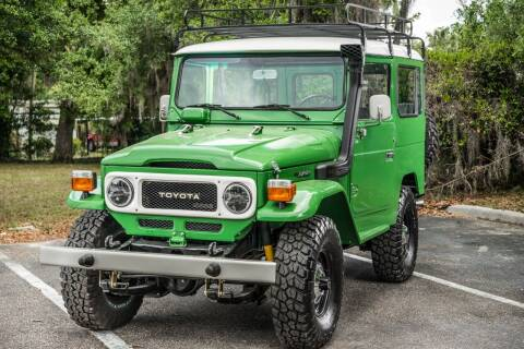 1980 Toyota Land Cruiser for sale at Motor Car Concepts II - Kirkman Location in Orlando FL