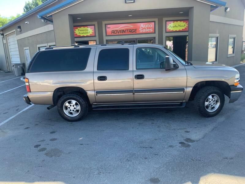 2003 Chevrolet Suburban for sale at Advantage Auto Sales in Garden City ID
