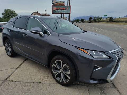 2018 Lexus RX 350 for sale at Sunset Auto Body in Sunset UT