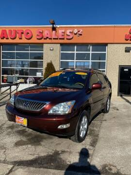 2008 Lexus RX 350 for sale at RON'S AUTO SALES INC - MAYWOOD in Maywood IL