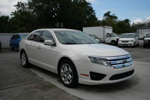 2010 Ford Fusion for sale at Mike's Trucks & Cars in Port Orange FL