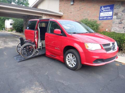 2014 Dodge Grand Caravan for sale at Mobility Motors LLC - A Wheelchair Van in Battle Creek MI