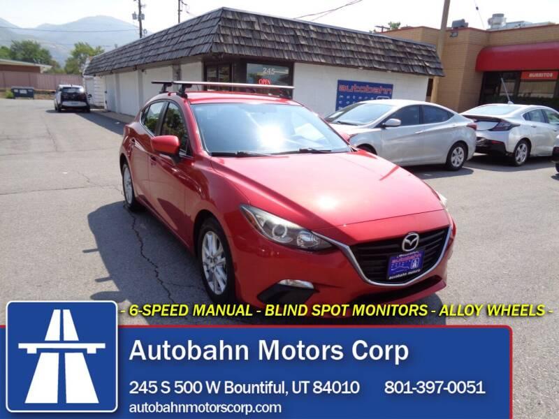2014 Mazda MAZDA3 for sale at Autobahn Motors Corp in Bountiful UT