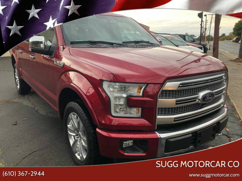 2016 Ford F-150 for sale at Sugg Motorcar Co in Boyertown PA