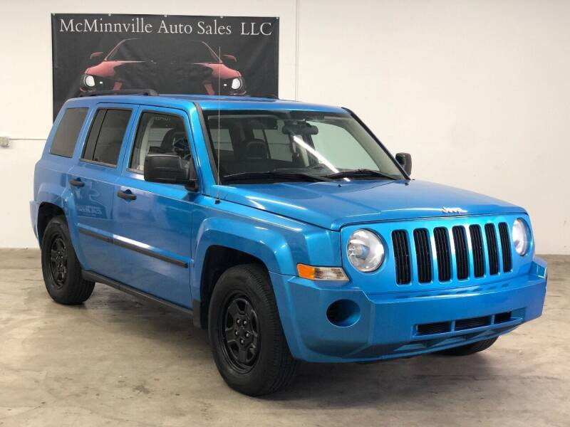 2008 Jeep Patriot for sale at McMinnville Auto Sales LLC in Mcminnville OR