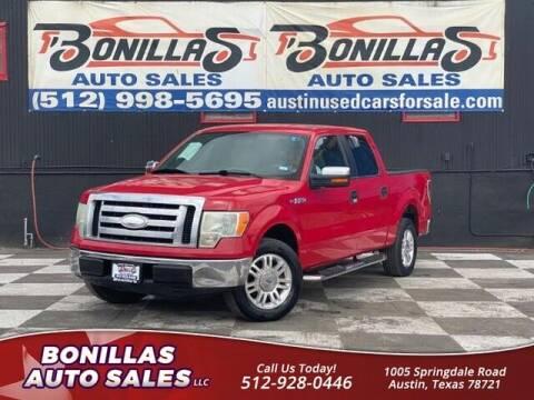 2009 Ford F-150 for sale at Bonillas Auto Sales in Austin TX
