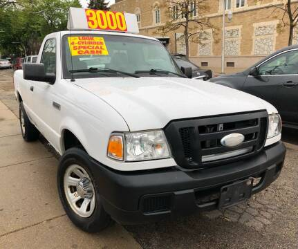2007 Ford Ranger for sale at Jeff Auto Sales INC in Chicago IL