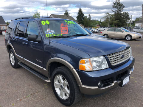 2004 Ford Explorer for sale at Freeborn Motors in Lafayette, OR