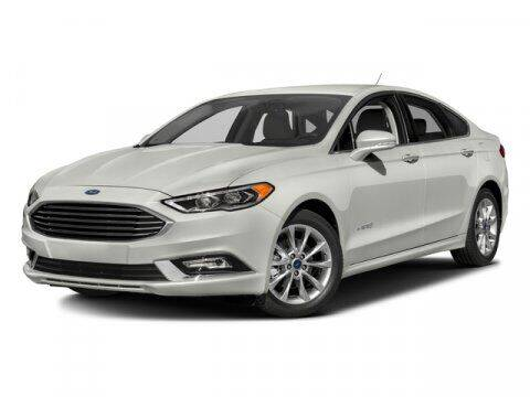 2017 Ford Fusion Hybrid for sale at Stephen Wade Pre-Owned Supercenter in Saint George UT
