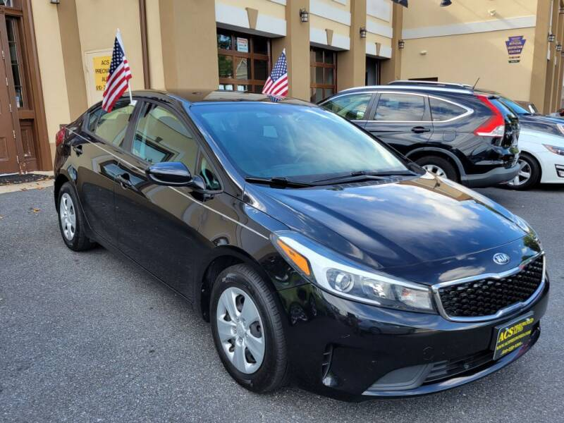2018 Kia Forte for sale at ACS Preowned Auto in Lansdowne PA