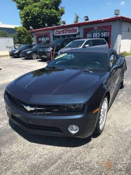 2013 Chevrolet Camaro for sale at CARSTRADA in Hollywood FL