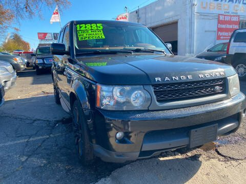 2010 Land Rover Range Rover Sport for sale at GRAND USED CARS  INC in Little Ferry NJ