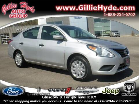 2016 Nissan Versa for sale at Gillie Hyde Auto Group in Glasgow KY