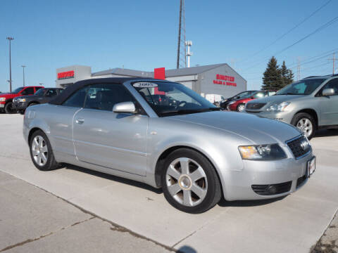 2005 Audi A4 for sale at SIMOTES MOTORS in Minooka IL