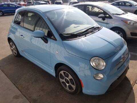 2017 FIAT 500e for sale at CENTURY MOTORS in Fresno CA