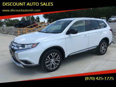 2017 Mitsubishi Outlander for sale at DISCOUNT AUTO SALES in Mountain Home AR