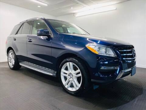 2015 Mercedes-Benz M-Class for sale at Champagne Motor Car Company in Willimantic CT