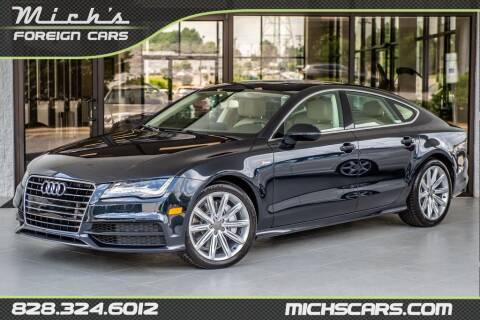2012 Audi A7 for sale at Mich's Foreign Cars in Hickory NC