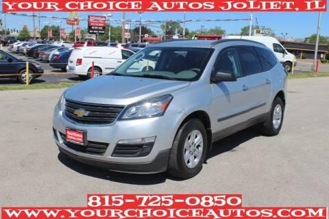 2015 Chevrolet Traverse for sale at Your Choice Autos - Joliet in Joliet IL