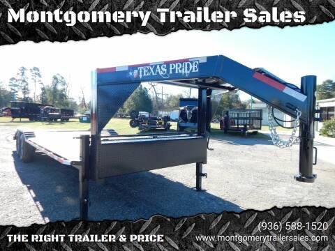 """2021 TEXAS PRIDE 102"""" X 20' + 4' for sale at Montgomery Trailer Sales - Texas Pride in Conroe TX"""