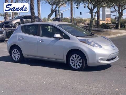 2015 Nissan LEAF for sale at Sands Chevrolet in Surprise AZ