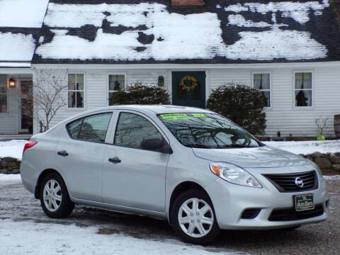 2014 Nissan Versa for sale at The Auto Barn in Berwick ME