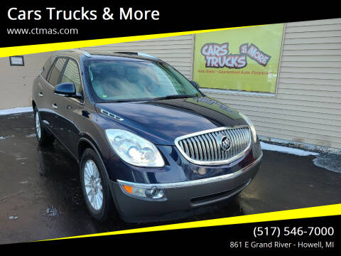 2009 Buick Enclave for sale at Cars Trucks & More in Howell MI
