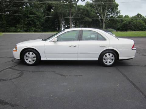 2002 Lincoln LS for sale at Barclay's Motors in Conover NC