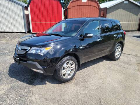 2009 Acura MDX for sale at Motorsports Motors LLC in Youngstown OH