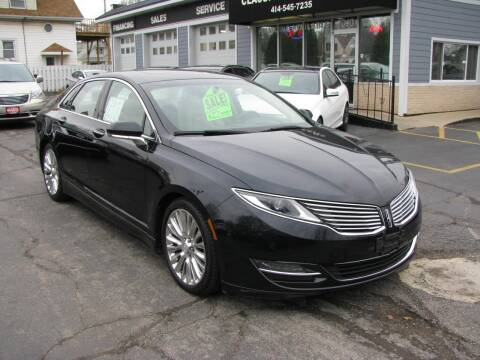 2014 Lincoln MKZ for sale at CLASSIC MOTOR CARS in West Allis WI