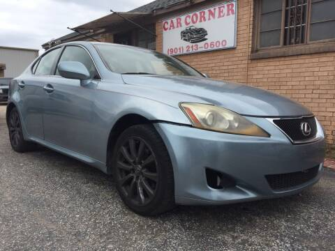 2006 Lexus IS 250 for sale at Car Corner in Memphis TN