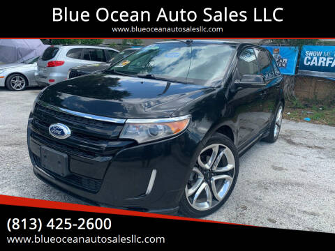2012 Ford Edge for sale at Blue Ocean Auto Sales LLC in Tampa FL