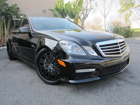 2010 Mercedes-Benz E-Class for sale at ORANGE COUNTY AUTO WHOLESALE in Irvine CA