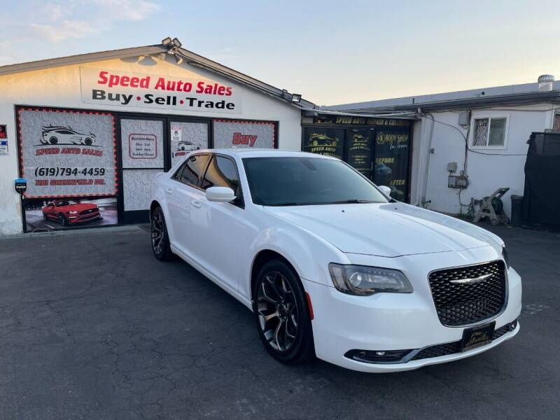 2018 Chrysler 300 for sale at Speed Auto Sales in El Cajon CA