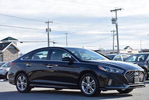 2018 Hyundai Sonata for sale at Broadway Garage of Columbia County Inc. in Hudson NY