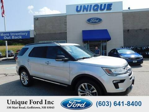 2019 Ford Explorer for sale at Unique Motors of Chicopee - Unique Ford in Goffstown NH