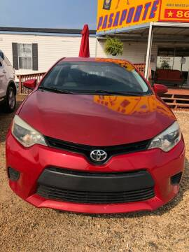 2014 Toyota Corolla for sale at Mega Cars of Greenville in Greenville SC