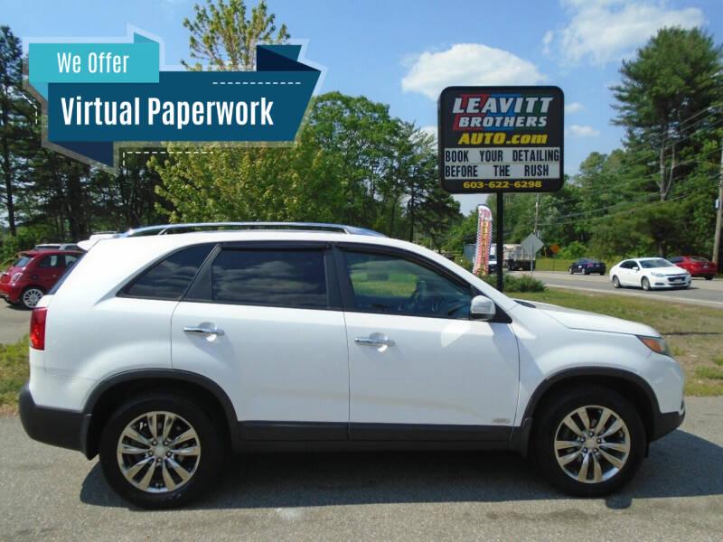 2011 Kia Sorento for sale at Leavitt Brothers Auto in Hooksett NH