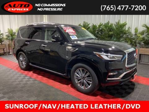 2018 Infiniti QX80 for sale at Auto Express in Lafayette IN